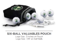 6 Ball Pouch with Tee Pack - Callaway