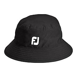 FJ DryJoys Bucket Hat - Black