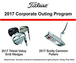 Titleist Corporate Outing Program