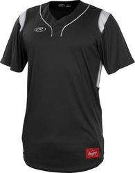 Rawlings Adult Hidden Button Jersey