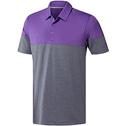 Ultimate 365 Heather Blocked Polo