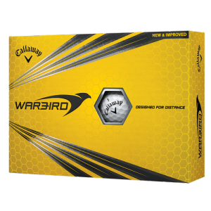 Callaway Warbird Logo Balls ON BACK ORDER UNTIL LATE MAY-EARLY JUNE - Warbird logo golf ball