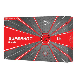 Callaway Superhot 15Ball Pack - Matte Red - Superhot - Matte Red
